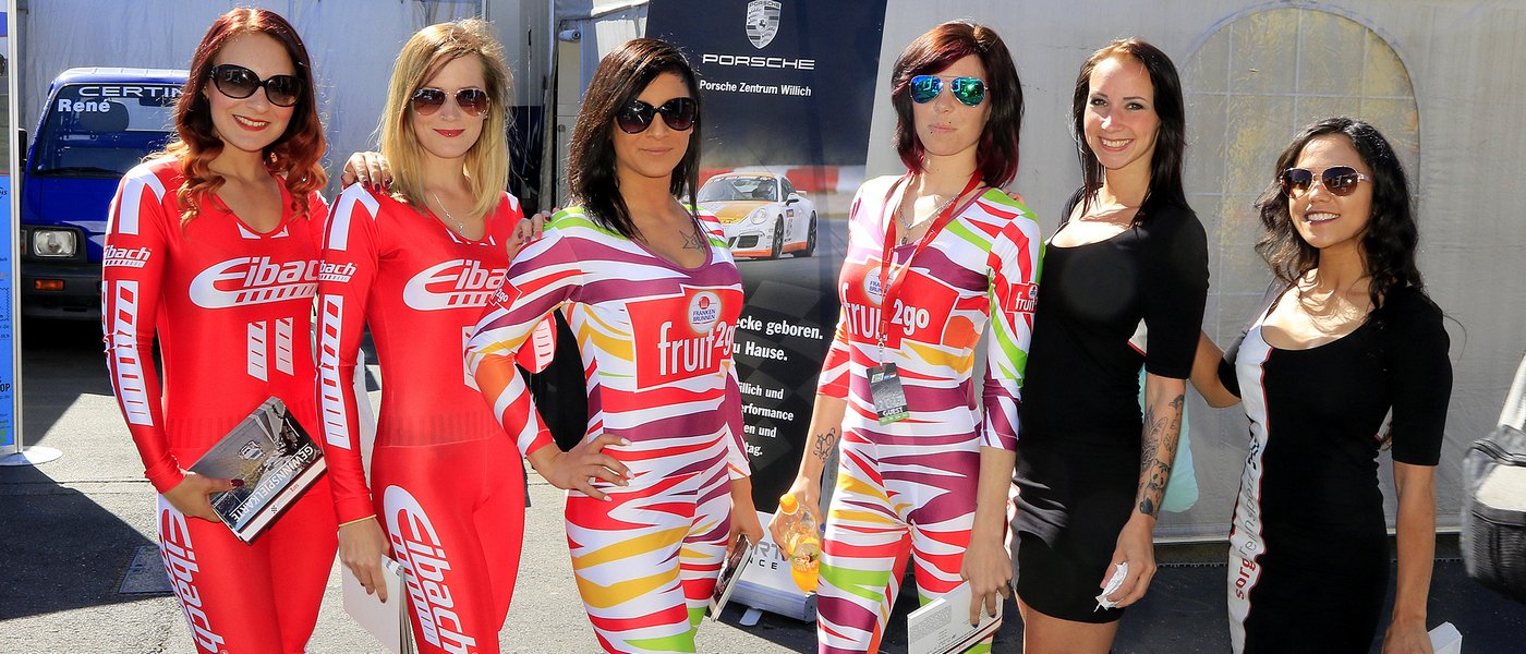SEXY GRID GIRLS   BOXENLUDER   PITBABES   RACEQUEENS