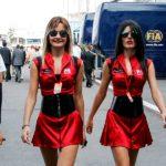 F1 Grid Girls der 2000er